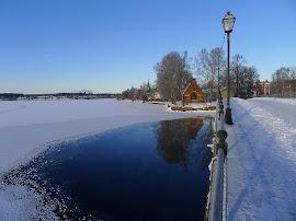 Pumphuset vid Lindesjön, vintern 2010-2011