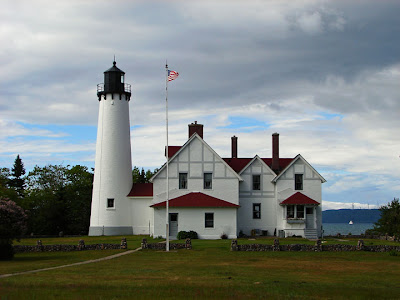 Front Of The Light Station