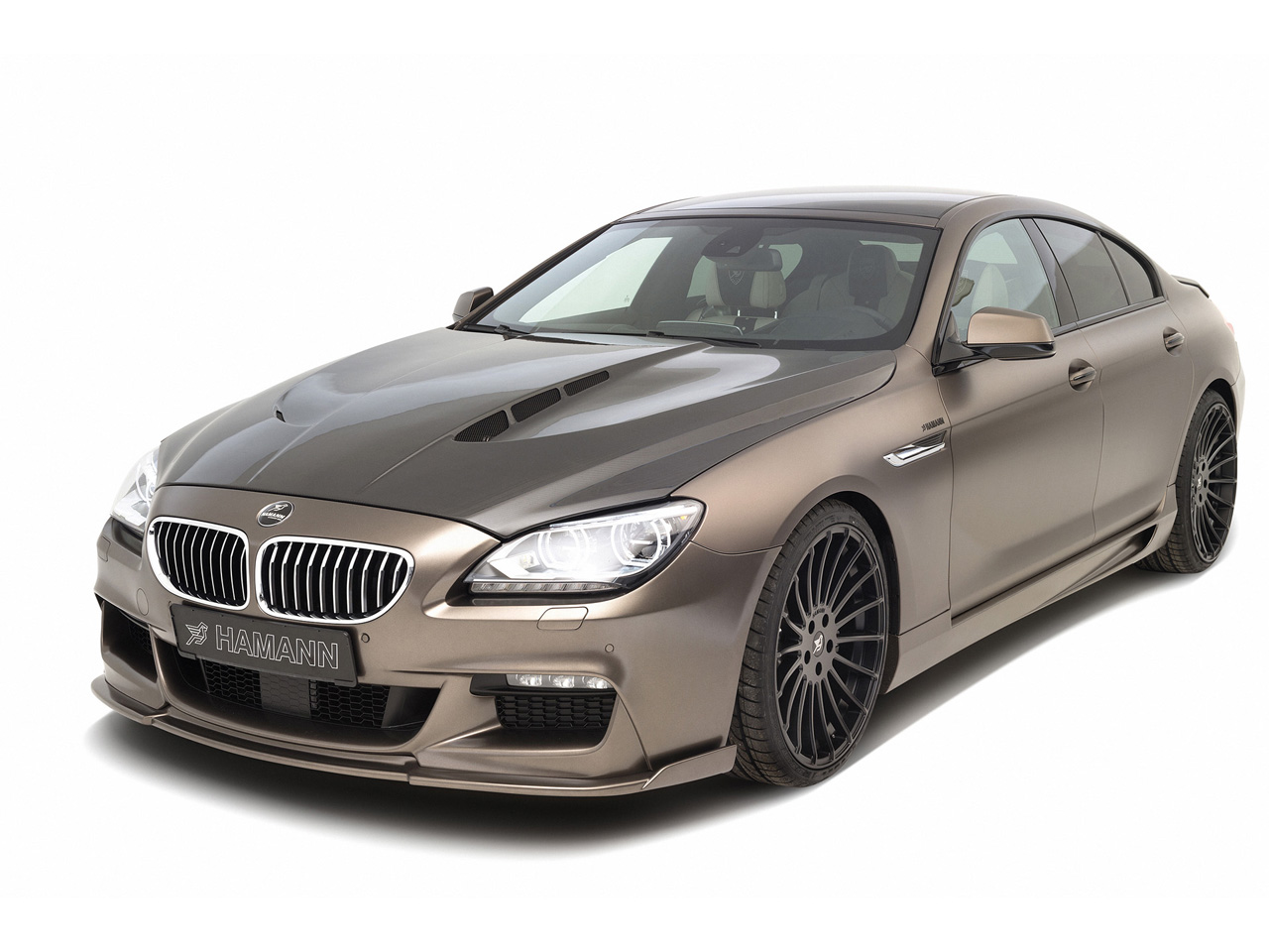 modern cars hamann bmw 6 series gran coupe 2013. Black Bedroom Furniture Sets. Home Design Ideas