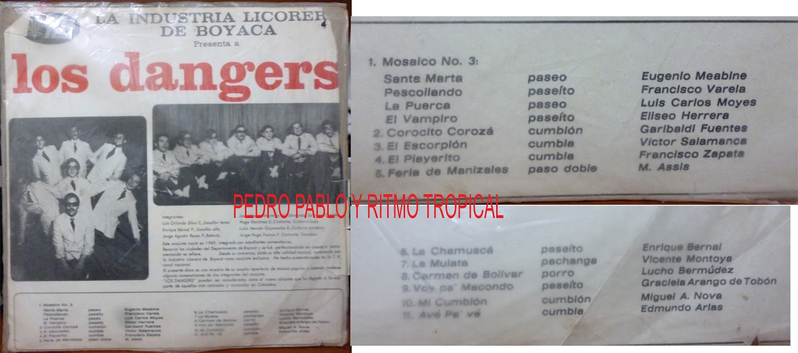 Los Golden Boys - Cumbia De La Mariguana -Se Trabó La Banda· / Don Martin