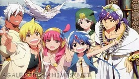 Magi The Labyrinth of Magic 19 assistir online legendado