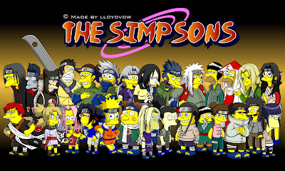 Naruto as The Simpsons by lloydvdw Os Simpsons (The Simpsons) 1ª à 24ª Temporada Torrent   Dublado (1989   2013)