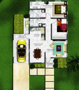 Planos de casas modelos y dise os de casas dise o de for Diseno de interiores de casas planos