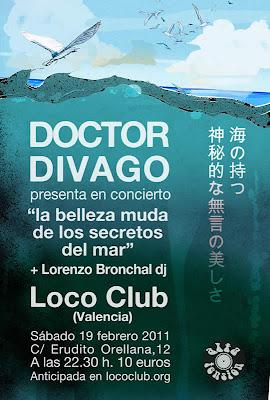 DOCTOR DIVAGO - Concierto (19-2-2011)