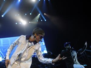 Foto Konser Justin Bieber di Indonesia 23 April 2011