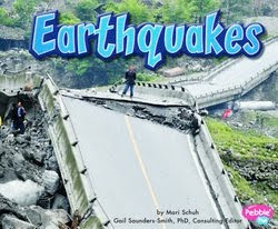 bookcover of Earthquakes by Mari C. Schuh