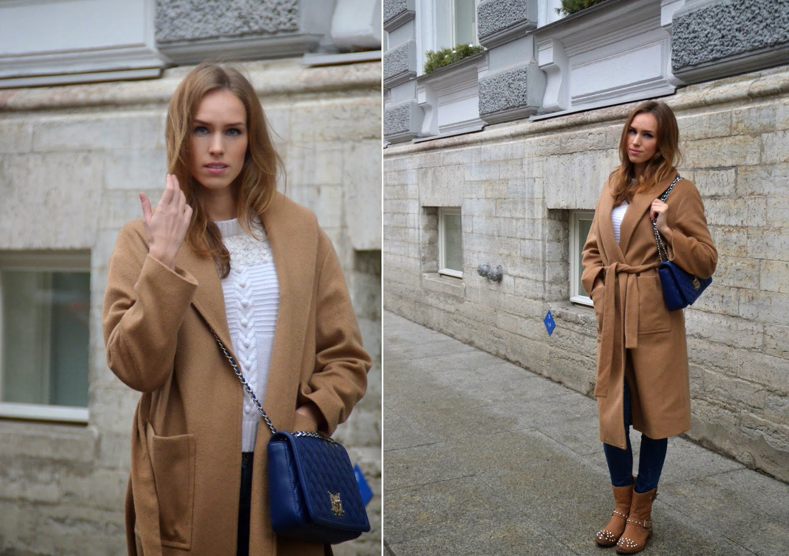 mango-camel-coat-guess-blue-jeans-white-jumper-outfit