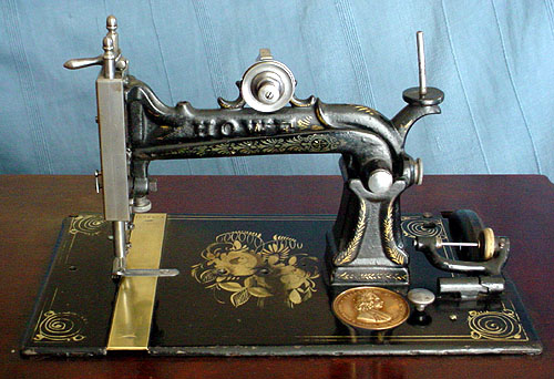 elias howe sewing machine 1844