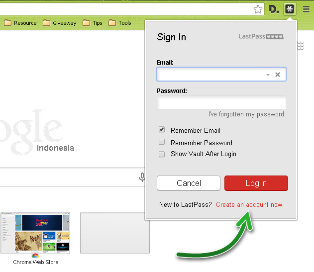 Jaga Password-mu dengan LastPass - Aplikasi Penyimpan Password