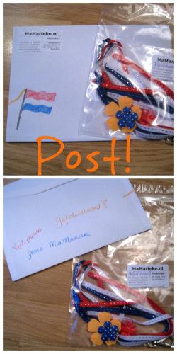 Wie is de gelukkige van deze envelop?
