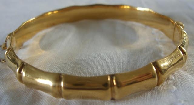 Bamboo Gold Bracelet7