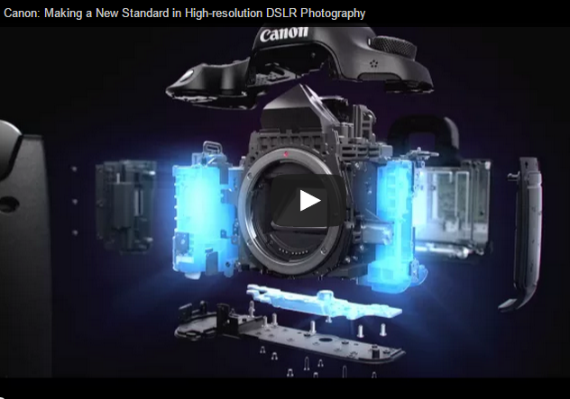 Canon EOS 5DS: a New Standard in High-resolution DSLR Photography - Video