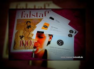 falstaff als Zeitschrift inklusive