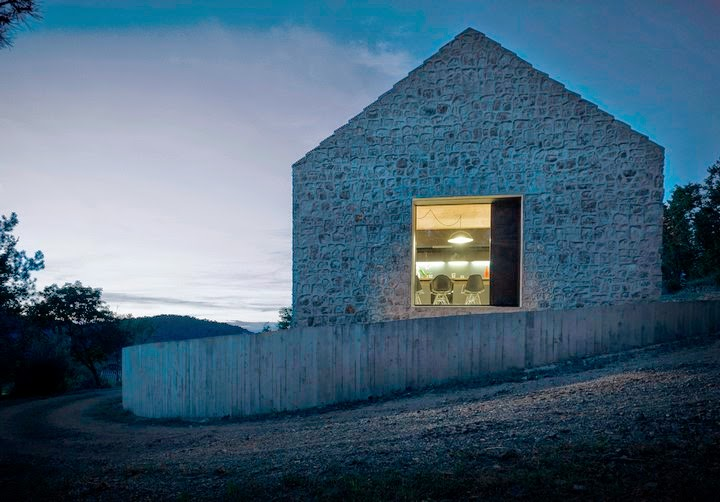 Traditional Compact Karst House Seen On www.coolpicturegallery.us