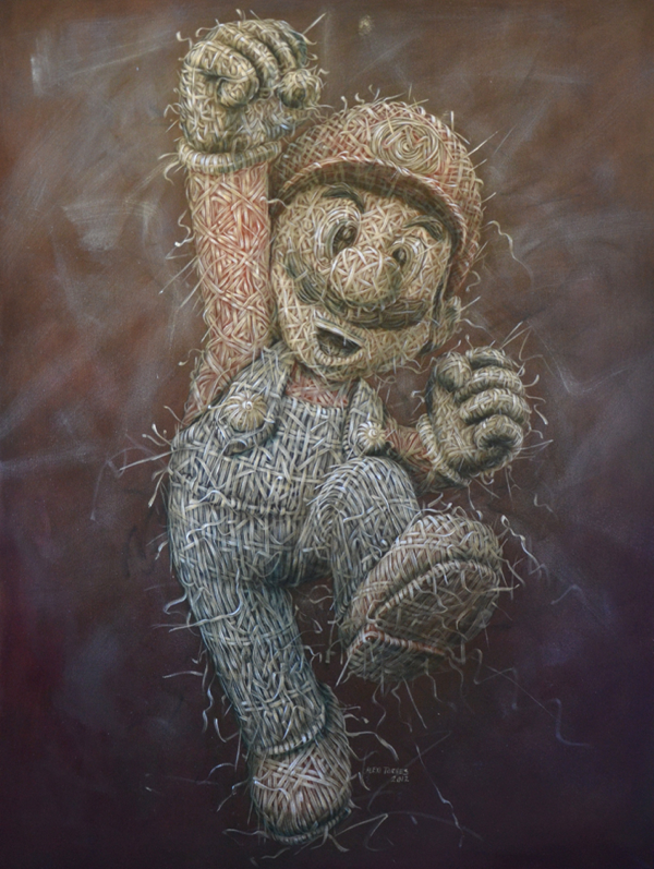 09-Mario-Alexi-Torres-Woven-Oil-Paintings-www-designstack-co