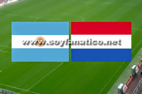Nederland vs Argentina World Cup 2014
