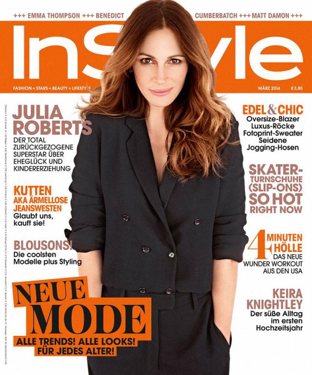 Julia Roberts en Style Magazine Alemania marzo 2014