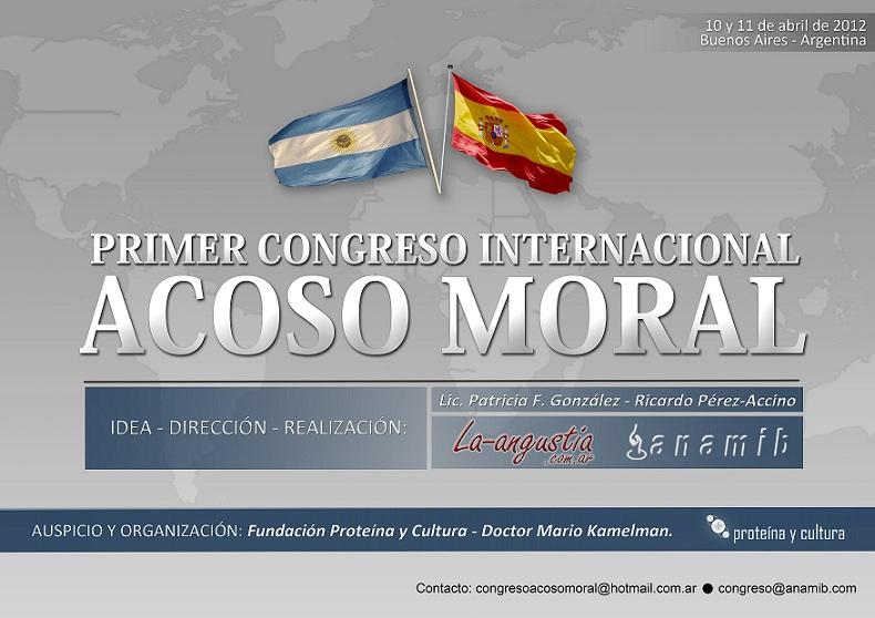 I Congreso internacional ACOSO MORAL en todos los escenarios posibles
