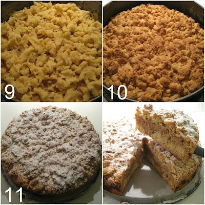 torta con ripieno di ricotta, amaretti e mandorle