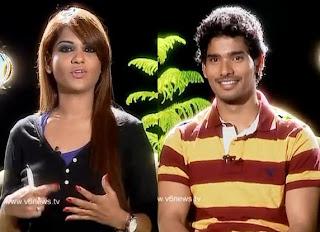 Sudhakar (Life is Beautiful) in Kathi Karthika show