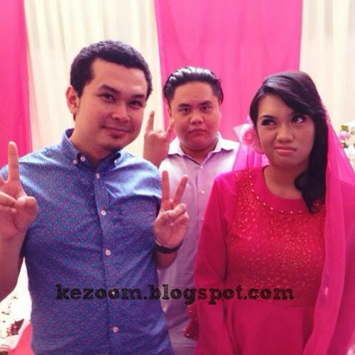 10 Gambar Majlis Pertunangan Anak Aziz M Osman