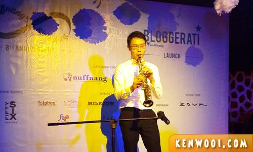soprano saxophonist