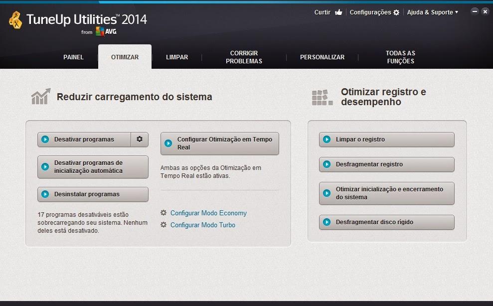 aplicativo tuneup utilities 2014