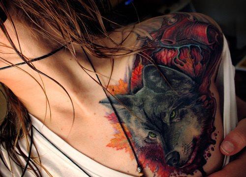 wolf ink!!!