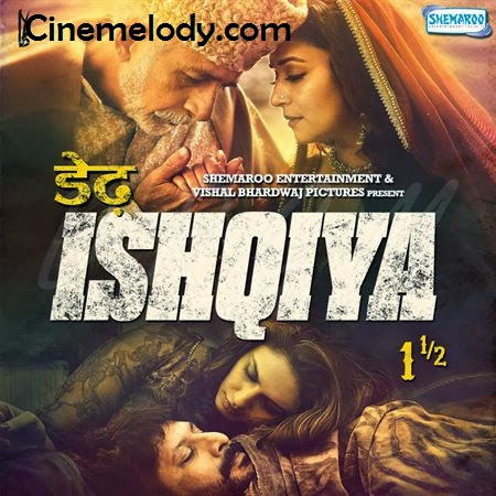 Dedh Ishqiya Hindi Mp3 Songs Free  Download  2014