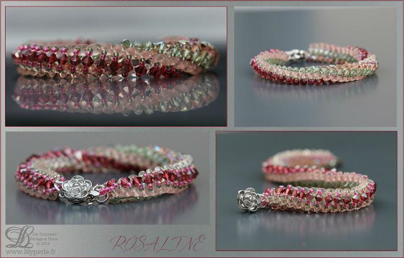 Bracelet Rosaline par Lilyperle