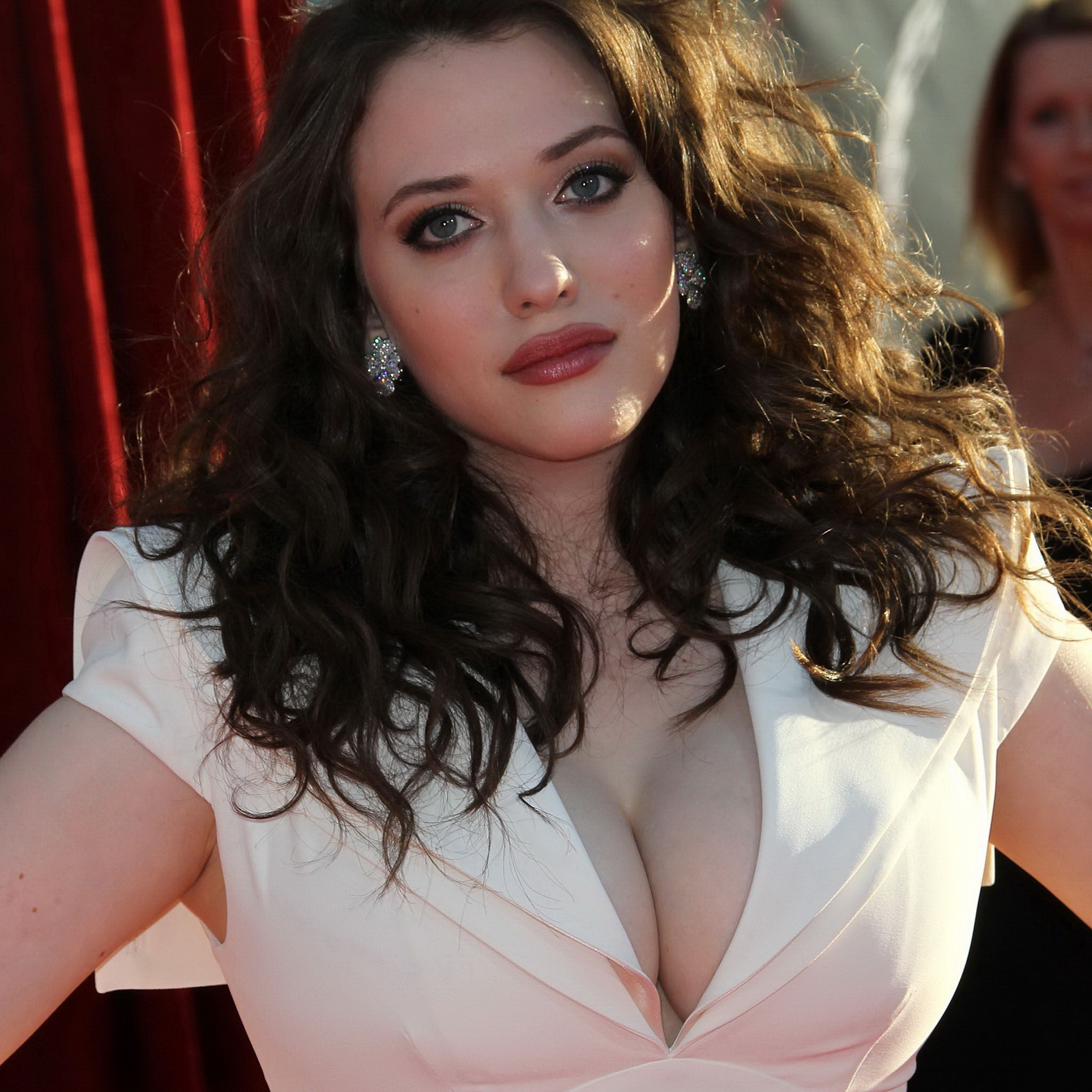 Can Hot kat dennings cleavage well told