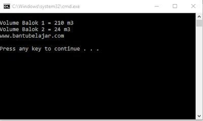 Nilai Default Parameter Constructor Pada C++