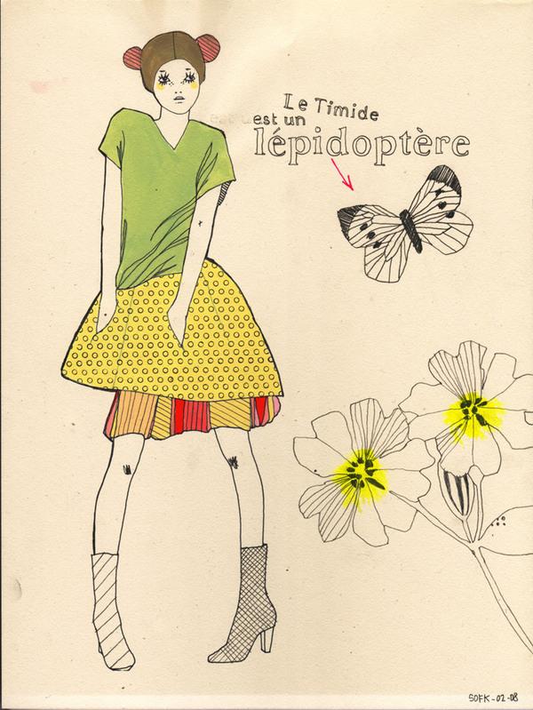 Sophie Leblanc illustrations ilustraciones