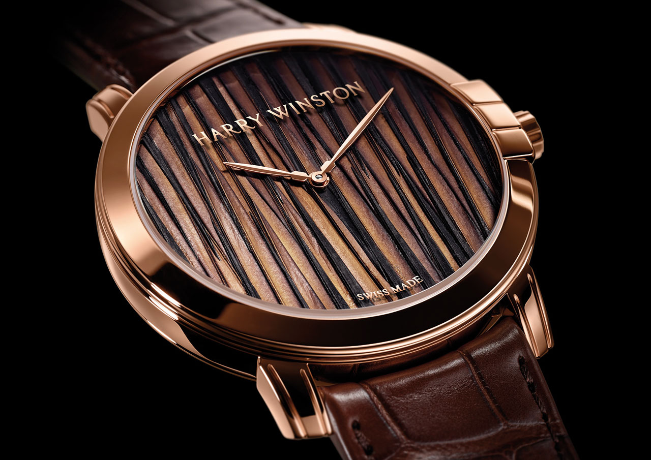 Harry Winston Midnight Feathers Automatic 42mm Watch