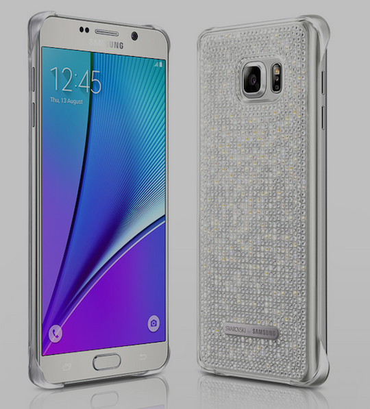 8. Swarovski Case For Note 5