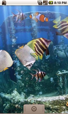 download the real aquarium live wallpaper apk