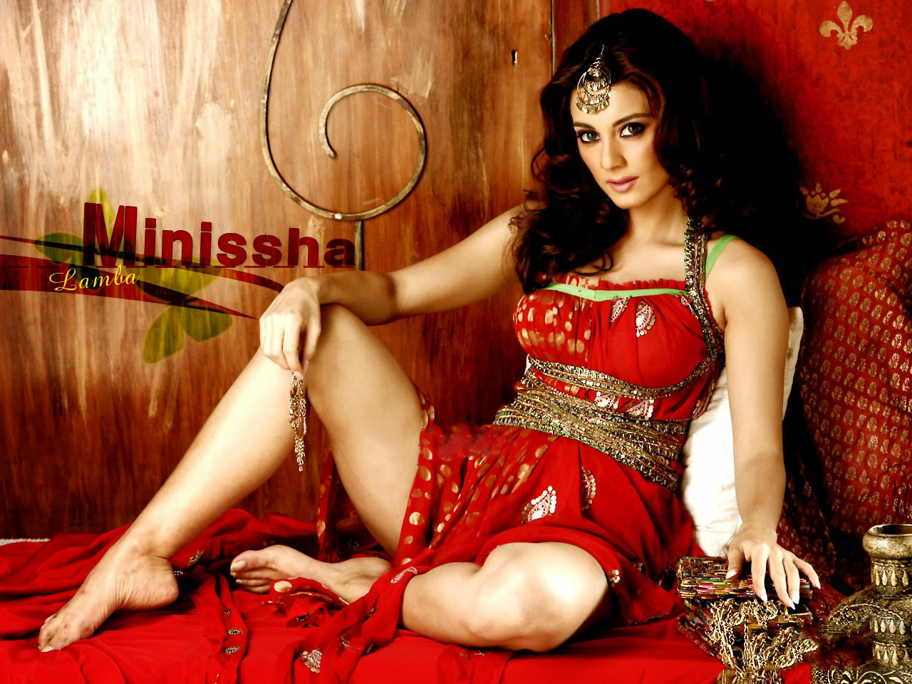 Gorgeous Bollywood actress Minissha Lamba.