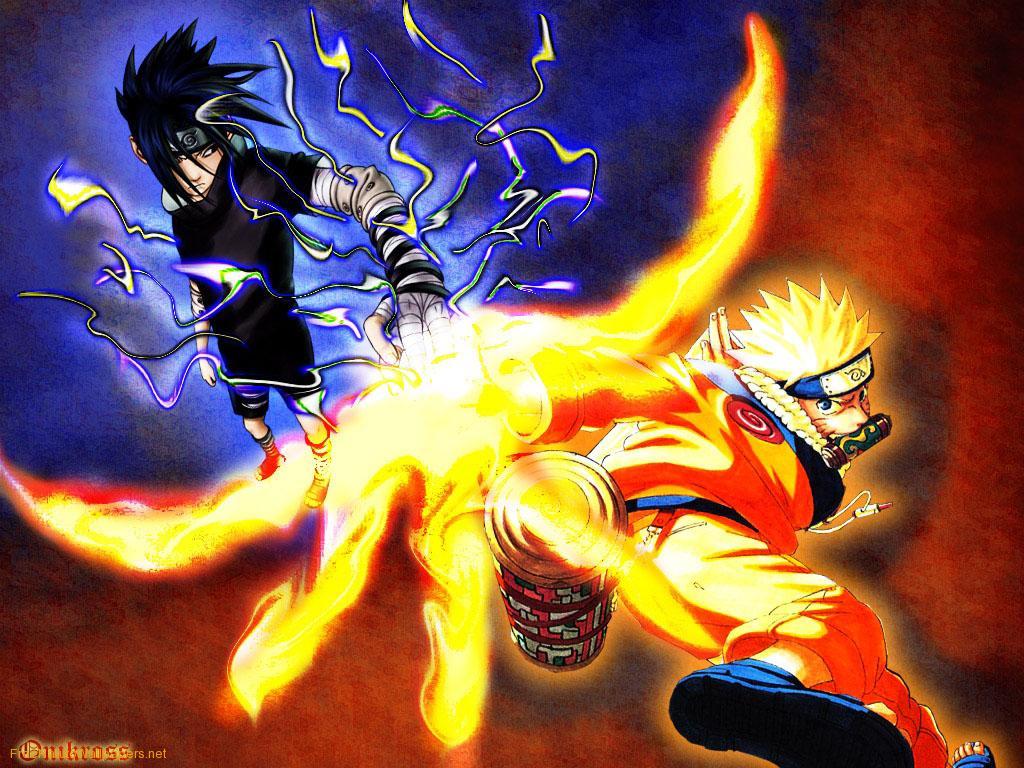 Beautiful   Wallpaper Home Screen Naruto - Sasuke-Vs-Naruto-1  Collection_46914.jpg