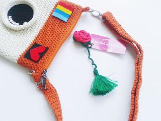 Tas Rajut Instagram, Tas Rajut, Tas Instagram, Tas Instagram Rajut, Tas Kamera, Tas Rajut Kamera, Crochet instagram purse, crochet purse, crochet bag, instagram purse