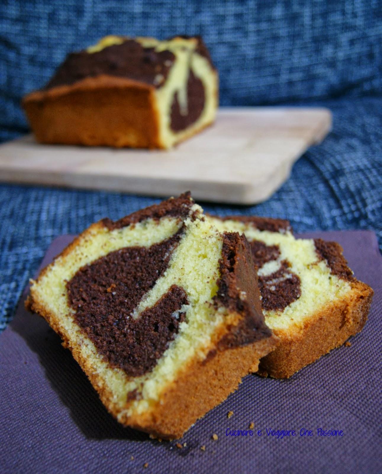 plumcake variegato al cacao di luca montersino