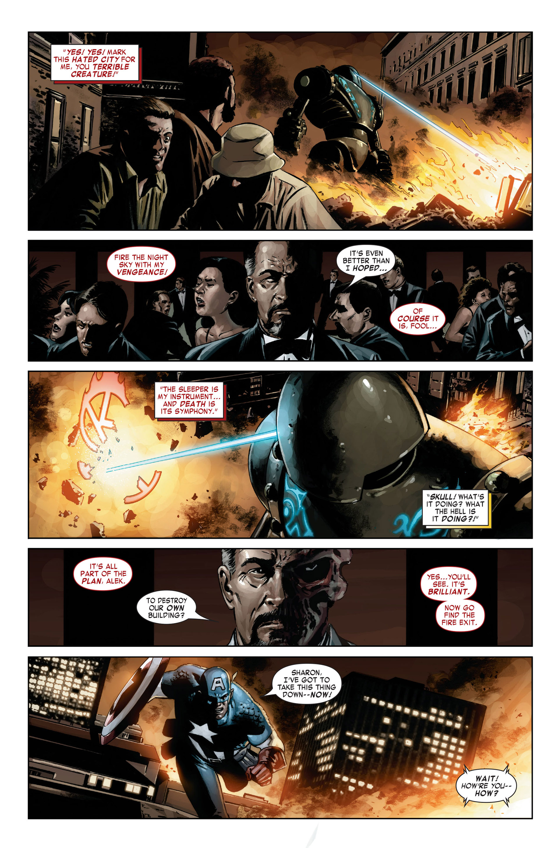 Captain America (2005) Issue #21 #21 - English 2