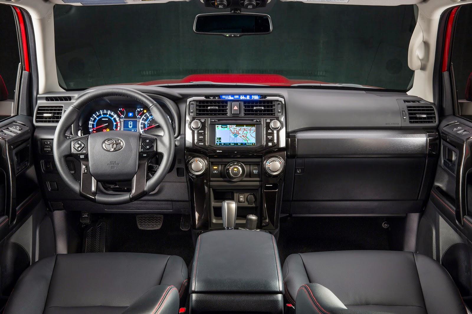 Interior view of 2015 Toyota 4Runner 4X4 Trail Premium
