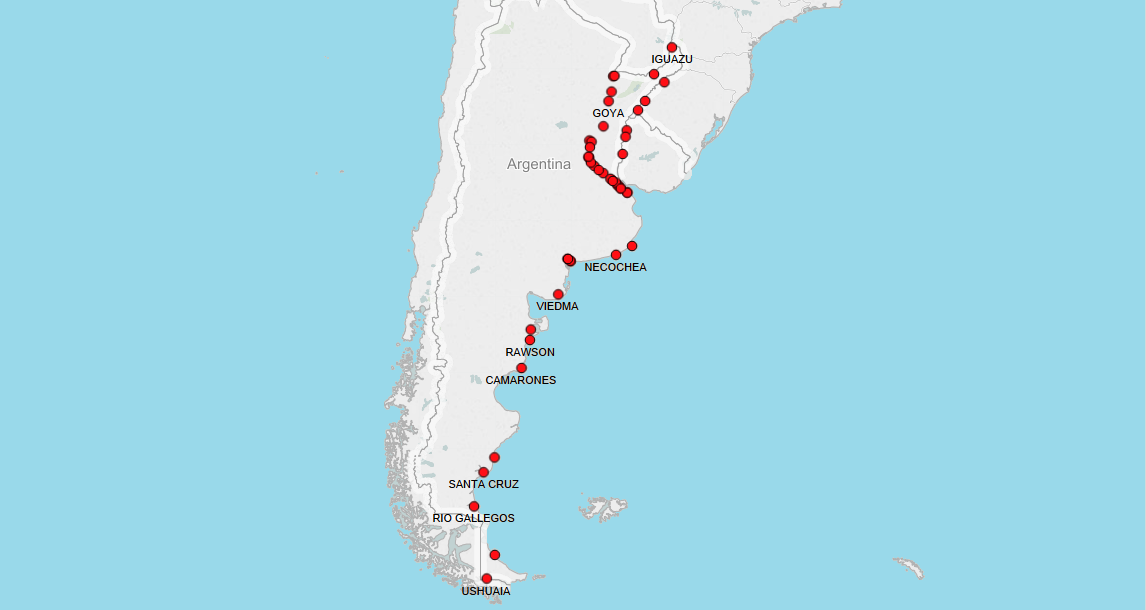 PORTS IN ARGENTINA