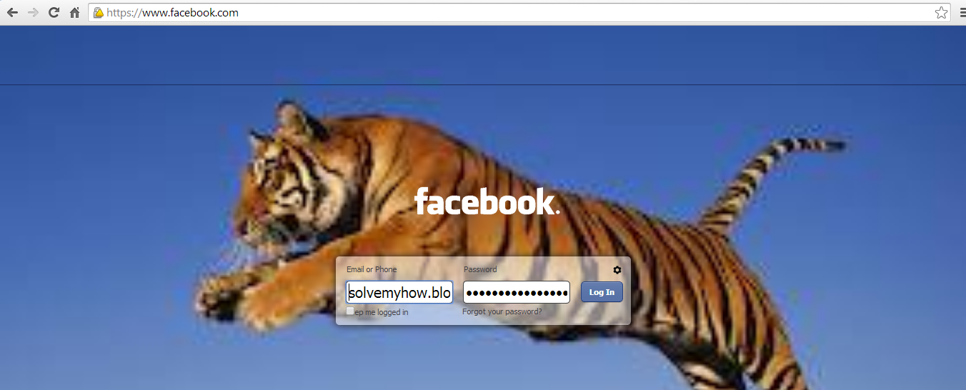 how to change my facebook page