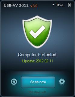 USB-AV 2012 - Anti Virus for USB Drive
