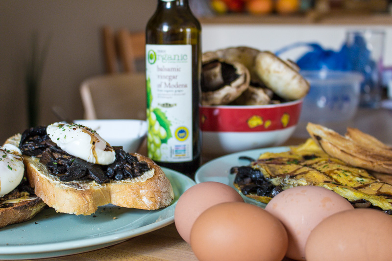 Portobello Mushroom and Egg Breakfast Two Ways | Svelte Salivations