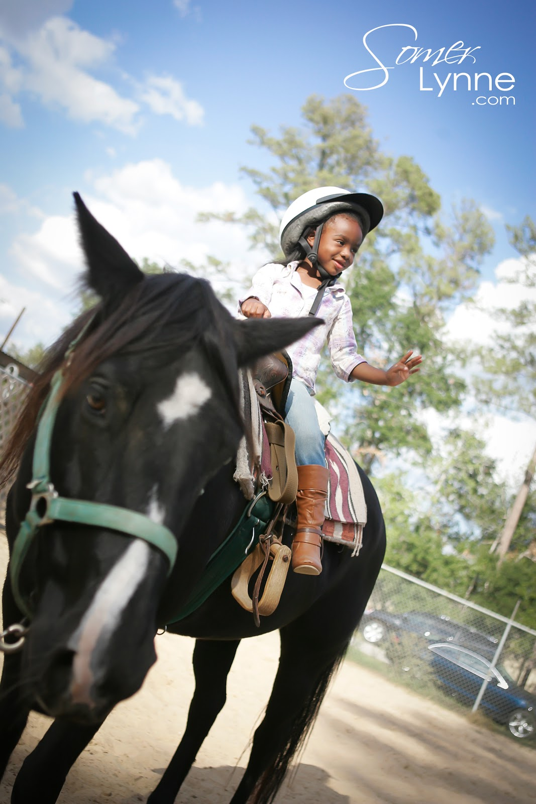 In the Moment...: Horseback Riding Birthday party! Spring ...