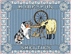 Homespun Shelties Website
