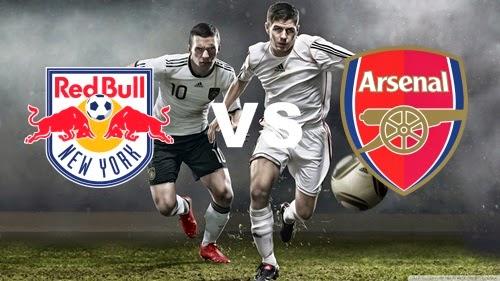 Prediksi Skor Terjitu New York RB vs Arsenal jadwal 27 Juli 2014