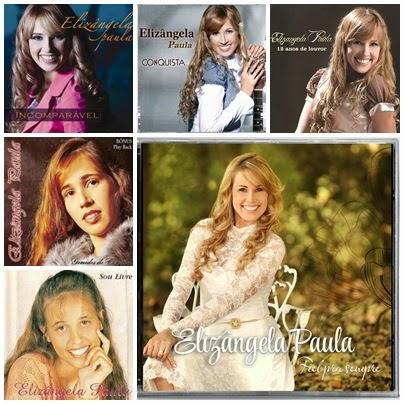 Coleção de CDs Elizângela Paula